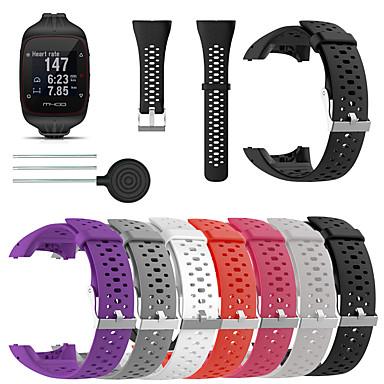 Χαμηλού Κόστους Watch band for Polar-ιμάντα βραχιολιών σιλικόνης για Polar m400 m430 gps σπορ βραχιόλι αντικατάστασης έξυπνο ρολόι βραχιολιού με λουράκι ρολογιού εργαλείου