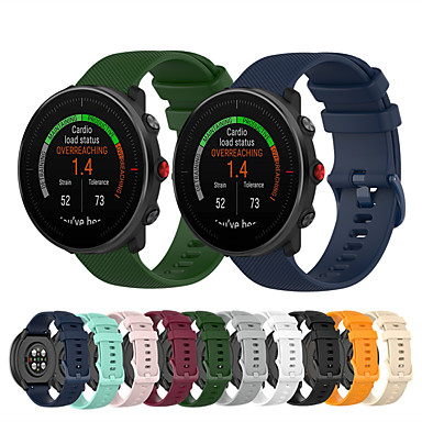 Недорогие Ремешки для Apple Watch-спортивный силиконовый ремешок для часов для полярных vantage m / ignite / grit x сменный браслет ремешок на запястье браслет