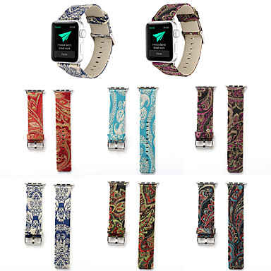 Недорогие Ремешки для Apple Watch-ремешок для часов для apple watch series 5/4/3/2/1 apple классическая пряжка стеганый ремешок из искусственной кожи