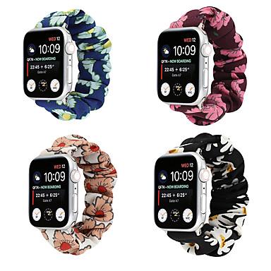 Недорогие Ремешки для Apple Watch-Ремешок для часов для Серия Apple Watch 5/4/3/2/1 Apple Спортивный ремешок Холст Повязка на запястье