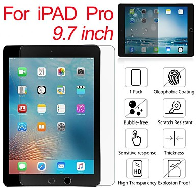 cheap iPad Screen Protectors-Tempered Glass For Apple iPad 9.7 5 6 Air Air2 iPad Pro(2016) Screen Protector