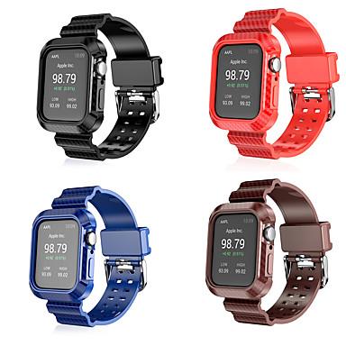 Недорогие Ремешки для Apple Watch-Ремешок для часов для Серия Apple Watch 5/4/3/2/1 Apple Спортивный ремешок Микрофибра Повязка на запястье