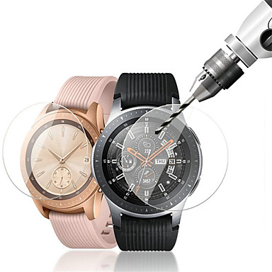 baratos Protetores de Tela Para Smartwatch-3pcs para relógio galáxia samsung 46 mm / 42 mm protetor de tela de vidro temperado 9h dureza