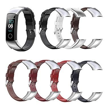 Недорогие Ремешки для часов Huawei-подходит для huawei honor 4&кожаный ремешок amp 5 с масляным воском
