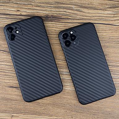 Недорогие Кейсы для iPhone-чехол для iphone 11pro max текстура углеродного волокна чехол для телефона xs max текстура углеродного волокна ультратонкий чехол 7 8plus se 2020 защитный чехол