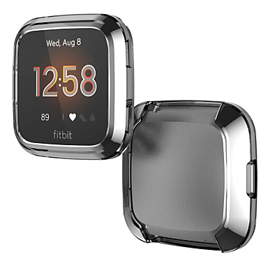 cheap Smartwatch Accessories-Cases For Fitbit Versa Lite TPU Compatibility Fitbit