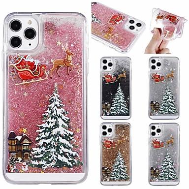Недорогие Кейсы для iPhone-Рождественский чехол с жидким рисунком для apple iphone 12 11 pro max 8 plus 7 plus 6 plus max, задняя крышка