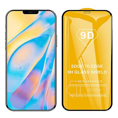 Недорогие Защитные плёнки для экрана iPhone-9d полное покрытие закаленное стекло протектор экрана для apple iphone 12 5g тонкая взрывозащищенная защитная пленка