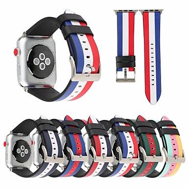 Недорогие Ремешки для Apple Watch-ремешок для часов для apple watch series 4/3/2/1 apple classic пряжка стеганый ремешок из искусственной кожи