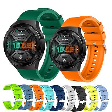 Недорогие Ремешки для часов Huawei-спортивный силиконовый ремешок для часов для huawei watch gt 2e сменный браслет ремешок на запястье браслет