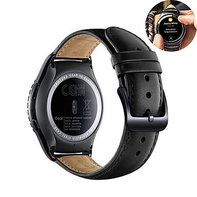 Недорогие Ремешки для часов Huawei-кожаный ремешок для часов для часов huawei gt 2e / honor magic watch 2 46 мм 42 мм / gt2 46 мм / gt2 42 мм / gt active / watch 2 / watch 2 pro сменный браслет ремешок на запястье браслет