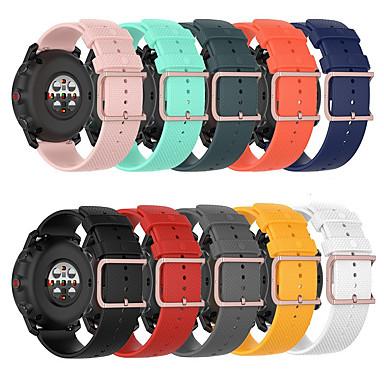 Недорогие Ремешки для часов Huawei-ремешок для часов для huawei watch gt2 46 мм / huawei watch gt 2 42 мм huawei спортивный ремешок силиконовый ремешок на запястье