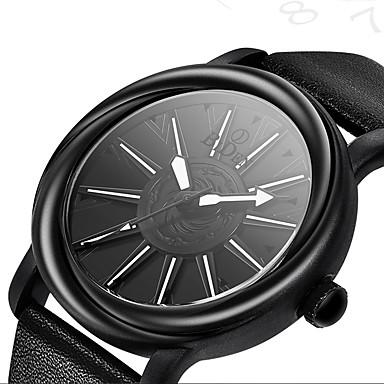 Недорогие Часы на кожаном ремешке-BIDEN Муж. Спортивные часы Кварцевый Старинный На каждый день Защита от влаги Аналоговый Черный Коричневый / Два года / Кожа / Два года