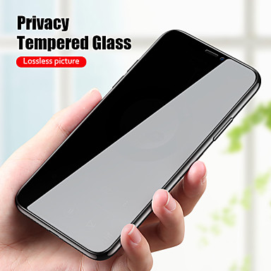 billige Skjermbeskyttere-anti spy peep personvern herdet glass for iphone 11 pro xs max xr x skjermbeskytter for iphone 12 pro max film