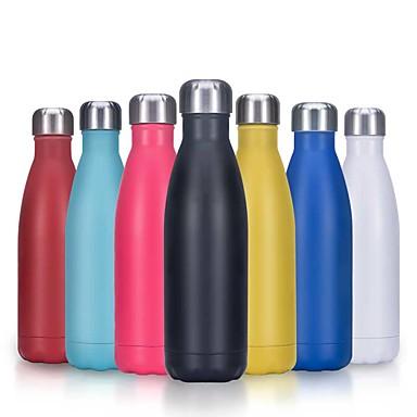 رخيصةأون أكواب الشرب-500 مللي ترمس فراغ قارورة ماء الفولاذ المقاوم للصدأ زجاجة الترمس معزول Hydr قارورة زجاجة ماء إلكتروني