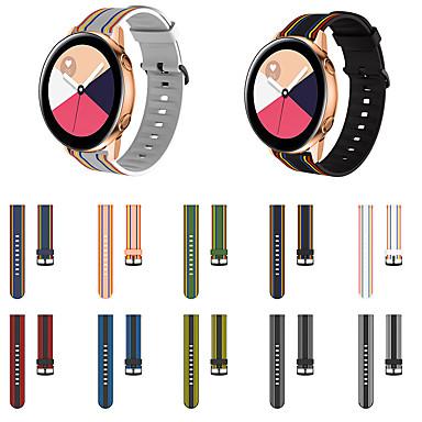 Недорогие Аксессуары для смарт-часов-ремешок для часов samsung galaxy watch 46 мм / samsung galaxy watch 42 мм samsung galaxy классическая пряжка силиконовый ремешок на запястье