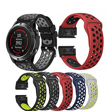 levne Shlédnout pásy pro Garmin-hodinky pásek na zápěstí pro garmin fénix 5 / přibližování s60 / předchůdce 935/945 / quatix 5 / quatix 5 safír / fénix 6 / fenix 5 plus hodinky náramkové náramkové náramkové hodinky s rychlým