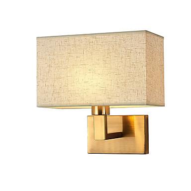 זול תאורת פנים-מגן עין מודרני / סגנון נורדי מנורות קיר סלון / חדר שינה מתכת אור קיר 110-120V / 220-240V 12 W