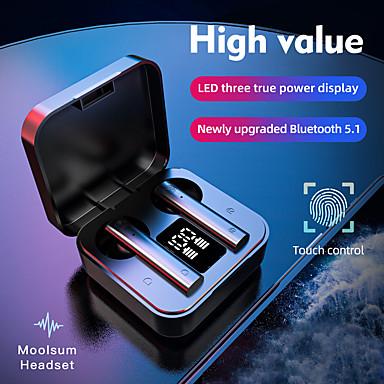 ieftine Căști-1898 12 TWS True Wireless Căști Bluetooth5.0 Stereo Cu Microfon Cu controlul volumului Sport & Fitness