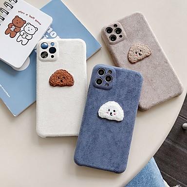 Недорогие Кейсы для iPhone-чехол для iphone 11 узор задняя крышка собака животное текстильный чехол для iphone 11 pro max / se2020 / xs max / xr xs 7/8 7/8 plus