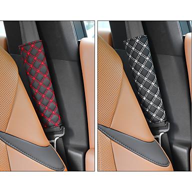 Недорогие Аксессуары для интерьера авто-deranfu niversal автомобильные накладки на ремни безопасности чехлы на плечевые ремни сидений накладки на ремни безопасности для автомобиля / сумки мягкий комфорт помогает защитить шею и плечо от