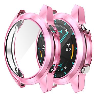 Недорогие Аксессуары для смарт-часов-чехлы для huawei watch gt 2 46 мм huawei watch gt 2 42 мм tpu совместимость huawei
