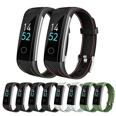 Недорогие Ремешки для часов Huawei-Ремешок для часов для Honor Band 3 Huawei Спортивный ремешок силиконовый Повязка на запястье