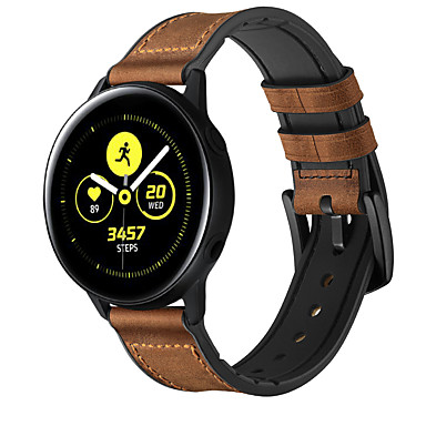 cheap Watch Bands for Samsung-Watch Band for Samsung Galaxy Watch Active / Samsung Galaxy Watch Active 2 Samsung Galaxy Leather Loop Genuine Leather Wrist Strap