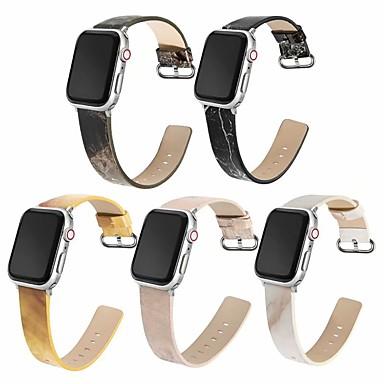 Недорогие Ремешки для Apple Watch-Ремешок для часов для Серия Apple Watch 5/4/3/2/1 Apple Классическая застежка силиконовый Повязка на запястье