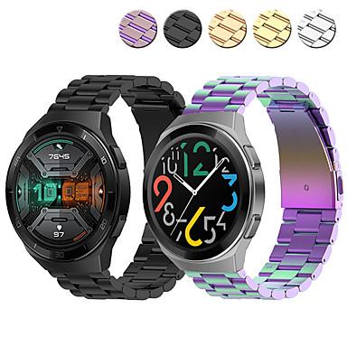 Недорогие Ремешки для часов Huawei-ремешок для часов для huawei watch gt 2e huawei ювелирный дизайн браслет из нержавеющей стали