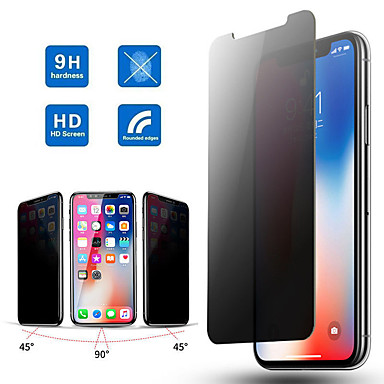 Недорогие Защитные плёнки для экрана iPhone-9h полное изогнутое закаленное стекло для iphone 11 pro max x xs max xr 12 pro max, анти-подглядывание, шпионская защитная пленка для экрана