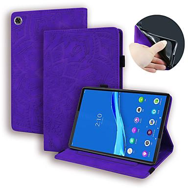 Недорогие Чехлы и кейсы для Lenovo-чехол для lenovo tab m8 hd tb-8505f x tab m8 fhd tb-8705f n держатель для карт флип чехол для всего тела однотонная искусственная кожа