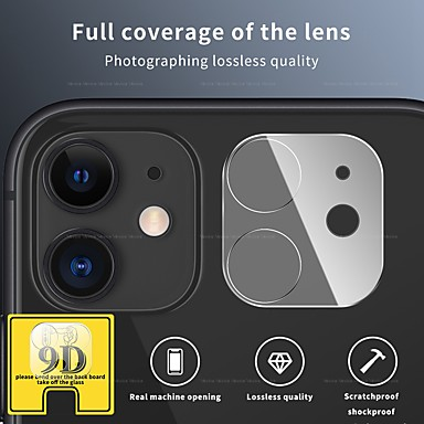 ieftine Folii de Protecție Ecran-Aparat de fotografiat 9d activat pentru iphone 12 11 pro max lentilă din spate complet protector de ecran din sticlă pentru accesorii aparat de fotografiat iphone 11 pro