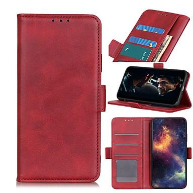 ieftine Carcase / Huse de LG-carcasă pentru portofel portofel lg k51 stylo 6 k61 cu suport carcasă corp complet carcasă din piele de culoare solidă pentru lg k41s k51s v60 thinq 5g g9 g8x thinq q70 k50s k40s k30 k20 (2019) w30