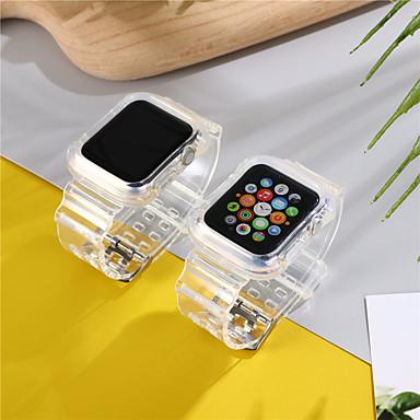 Недорогие Ремешки для Apple Watch-ремешок для часов для apple watch series 5/4/3/2/1 apple sport band силиконовый ремешок на запястье