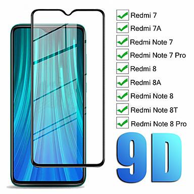 Χαμηλού Κόστους Προστατευτικά οθόνης για Xiaomi-1 / 2ppcs 9d γυαλί για Xiaomi Redmi Note 8 7 8t γυάλινο προστατευτικό οθόνης για redmi note 7 8 pro glass
