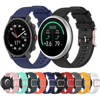 Недорогие Ремешки для Apple Watch-спортивный силиконовый ремешок для часов для полярных vantage m / grit x / ignite сменный браслет ремешок на запястье браслет
