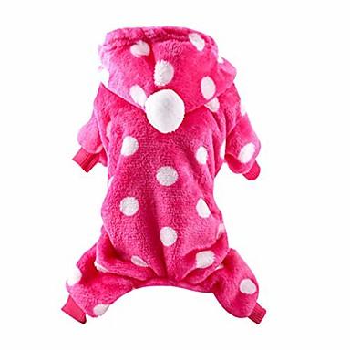 halpa Koirat-lemmikkieläinten vaatteet pienelle koirakissalle lemmikkipusero joulu hirvi cosplay talvella lämmin vaatetus mekko sakeuttaa vaatteita