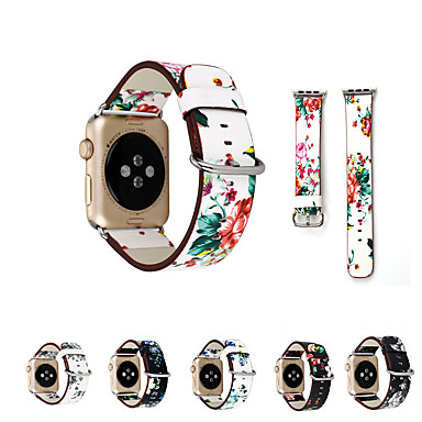 Недорогие Аксессуары для смарт-часов-ремешок для часов для apple watch series 5/4/3/2/1 apple классическая пряжка стеганый ремешок из искусственной кожи
