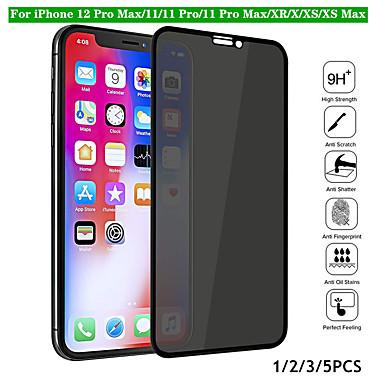 Χαμηλού Κόστους Προστατευτικά οθόνης για iPhone-Προστατευτικό οθόνης προστασίας προσωπικών δεδομένων κατάσκοπων πλήρους κάλυψης για iphone x xr xs 11 pro max 12 pro max 9h tempered glass