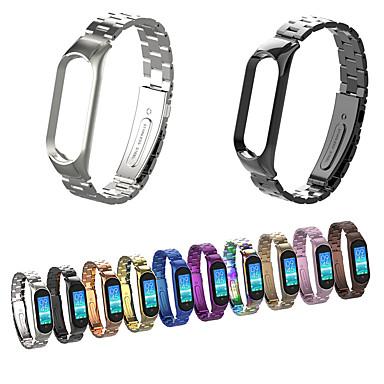 economico Cinturini per Xiaomi-cinturino per orologio xiaomi band 5 cinturino da polso in acciaio inossidabile xiaomi business band