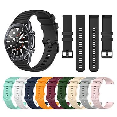 ieftine Curele Ceas pt Samsung-Uita-Band pentru Galaxy Watch 3 45mm / Galaxy Watch 3 41mm Samsung Catarama Clasica Silicon Curea de Încheietură
