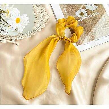 ieftine Bijuterii de Păr-Pentru femei Fete Elastice de păr Pentru Halloween Stradă Cadou Gril pe Kamado Romantic Ciucure Material Textil Galben Roz Îmbujorat Portocaliu 1 buc