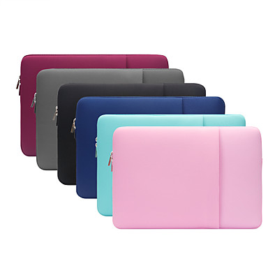 cheap Tablet Cases-11.6 Inch Laptop / 12 Inch Laptop / 13.3 Inch Laptop Sleeve / Tablet Cases Polyester / Cotton Blend Solid Colored / Textured for Men for Women for Business Office Waterpoof Shock Proof
