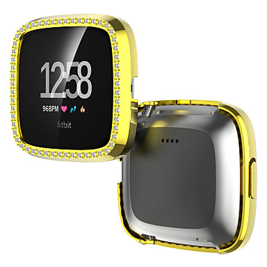 cheap Smartwatch Accessories-Cases For fitbit versa 2 Plastic Compatibility Fitbit