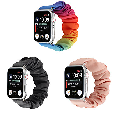 Недорогие Ремешки для Apple Watch-ремешок для часов для apple watch series 5/4/3/2/1 apple спортивный ремешок парусиновый ремешок