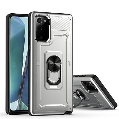 Недорогие Чехол Samsung-для samsung note20ultra s10 note10 s20 plus j8 j2 j4 противоударный металлический кронштейн защитный чехол