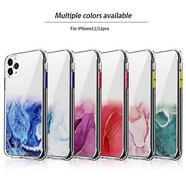 Недорогие Кейсы для iPhone-роскошный мраморный чехол для телефона для apple iphone 7 8 plus x xr xs max мягкий прозрачный силиконовый чехол с логотипом для iphone 11 pro max se2020