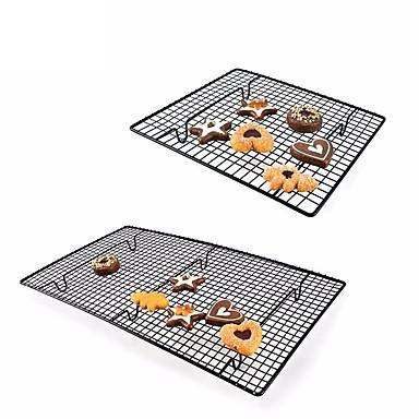 Χαμηλού Κόστους Εργαλεία και γκάτζετ ψησίματος-αντικολλητική κρεμάστρα ψύξης καθαρά μεταλλικά μπισκότα μπισκότα ψωμί muffins στέγνωμα ψύκτη ψυγείο κάτοχος εργαλεία ψησίματος κουζίνας