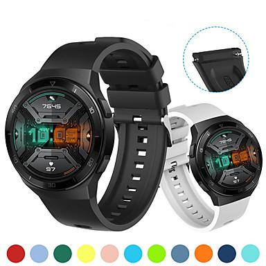Недорогие Ремешки для часов Huawei-сменный ремешок для часов huawei gt 2e силиконовый спорт замена ремешка для часов huawei gt 2e